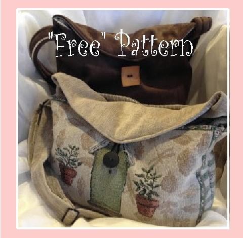 """My Perfect Organized Purse-""""Free Pattern"""""""