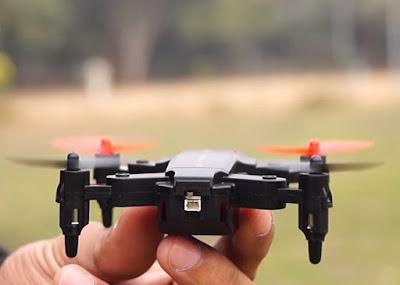 Review Eachine E59 Drone Mini Bisa di Lipat Cocok Untuk Pemula