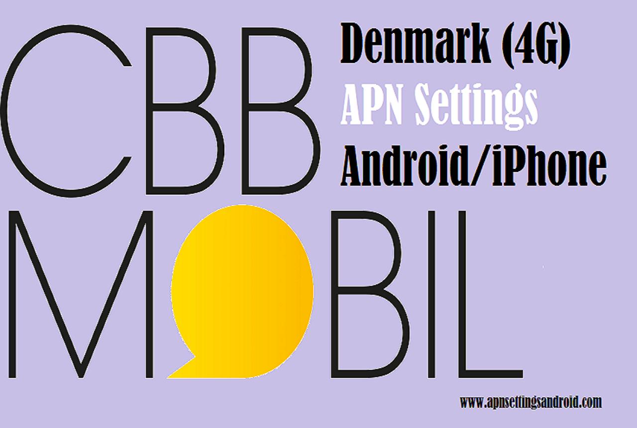 CBB Denmark APN Settings for Android