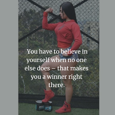 Fitness Inspirational quotes for girls