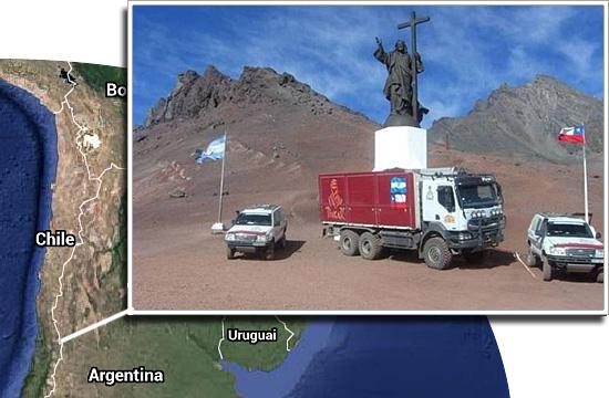 Fronteiras pelo mundo - Chile e Argentina