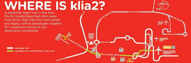 Cara ke KLIA dan KLIA2