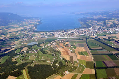 Yverdon lac