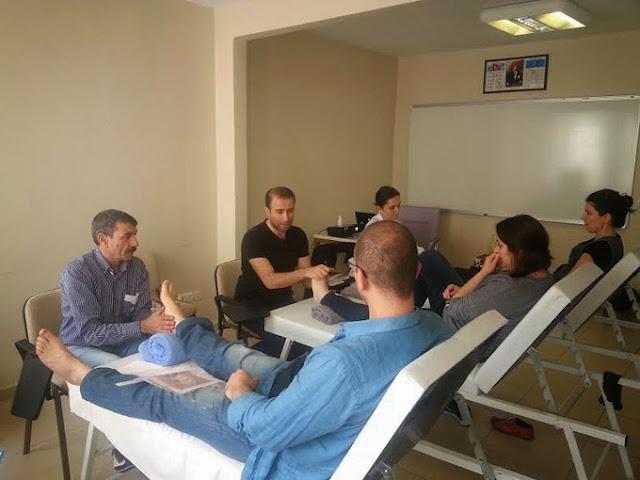 Türkiye'de refleksoloji kursları
