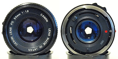 Canon New FD 50mm 1:1.8 #378