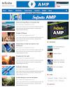 Infinite Amp Responsive Blogger Template