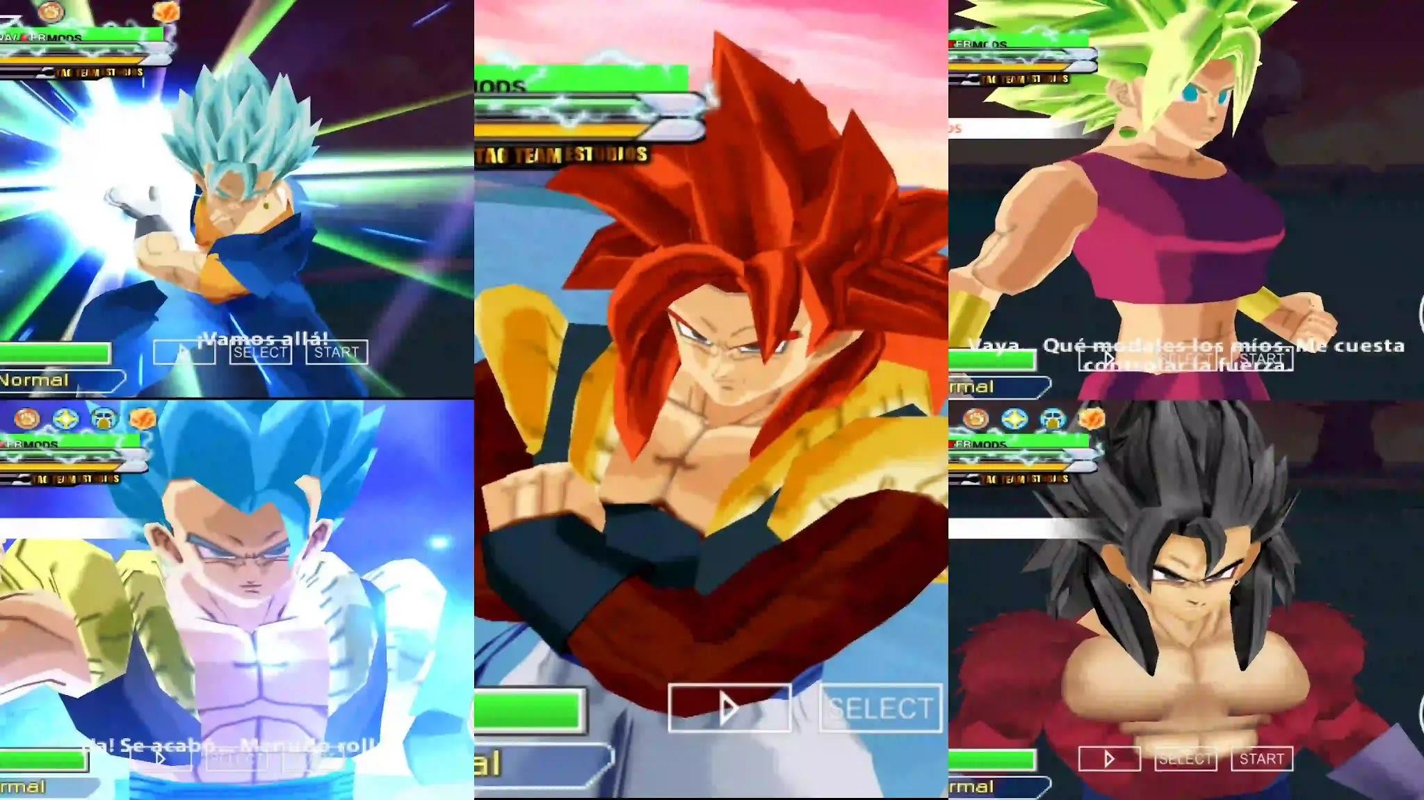 Super Dragon Ball Heroes All Fusions