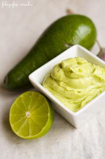 Dietetyczny majonez z awokado