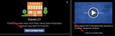 Membuat Lowongan Kerja Facebook Menggunakan Laptop atau PC Browser
