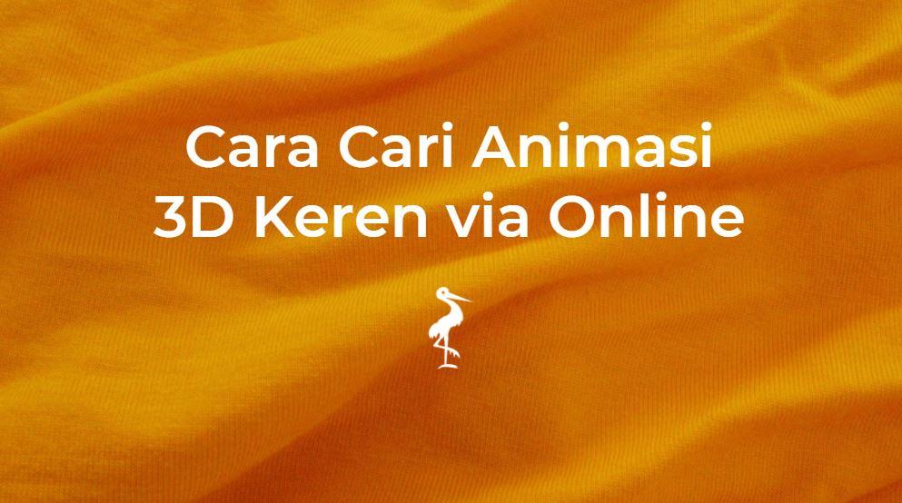 cari animasi 3d keren online