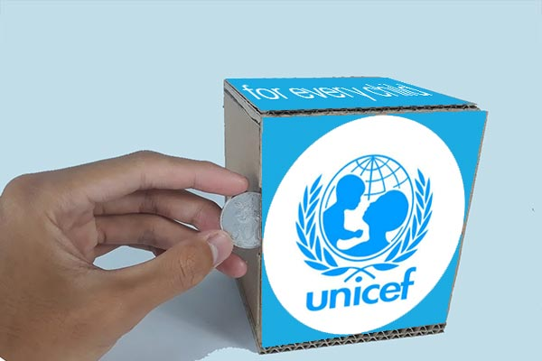 Donasi Pendidikan Melalui UNICEF