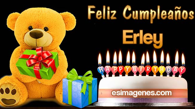 Feliz Cumpleaños Erley