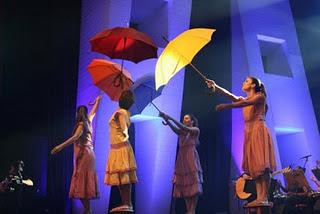 O uso dos objetos nas ministrações, guarda-chuvas