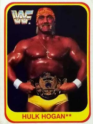 La card merlin di Hulk Hogan del 1991
