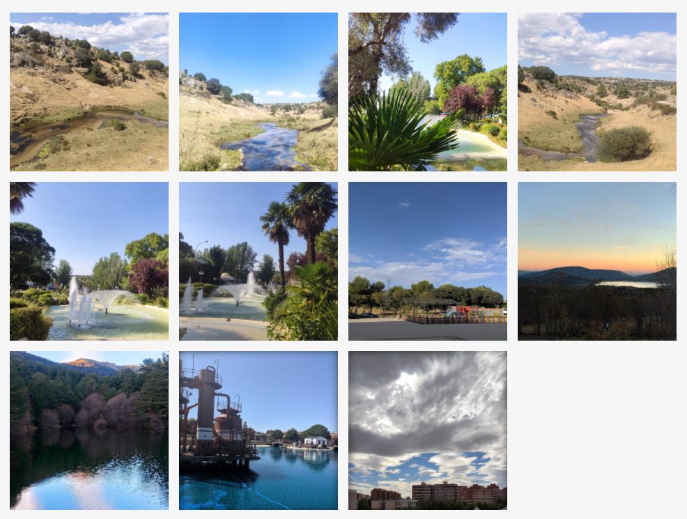Fotografía de paisajes