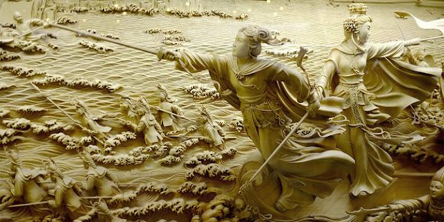 Menilik Sejarah Panjang Seni Ukir Tiga Dimensi Dongyang