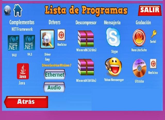 Pack Programas ISO TEU -