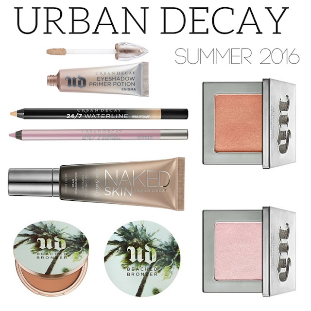Urban Decay Naked Summer 2016 Collection