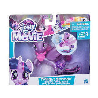 My Little Pony Movie Brushable - Twilight Sparkle Sea Pony