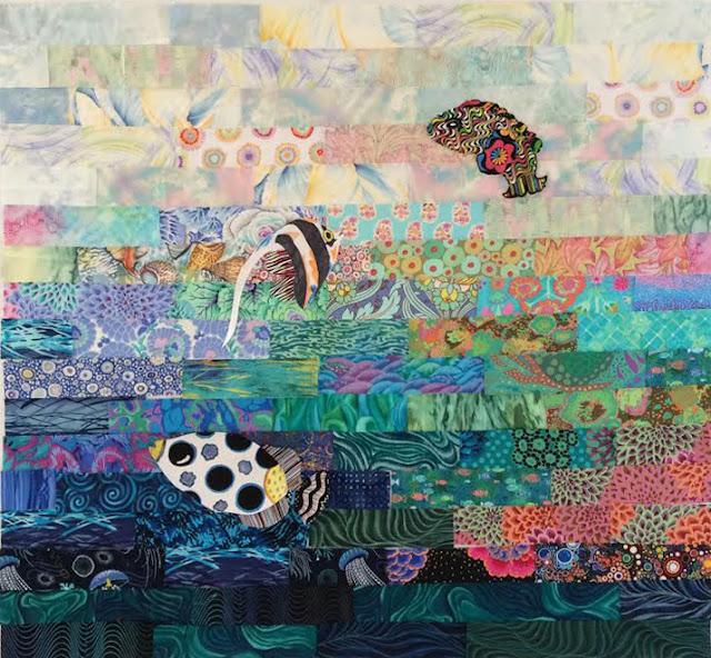 fish quilt laura nownes