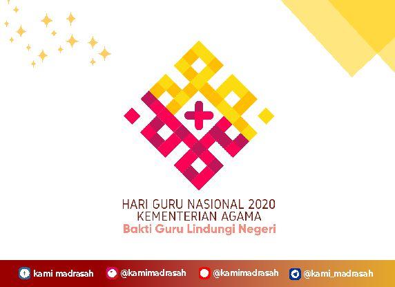 Logo Hari Guru Nasional 2020 Jpg Png Dan Vector Kami Madrasah