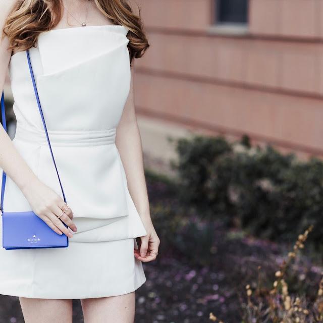 White-Satin-Formal-Strapless-Dress