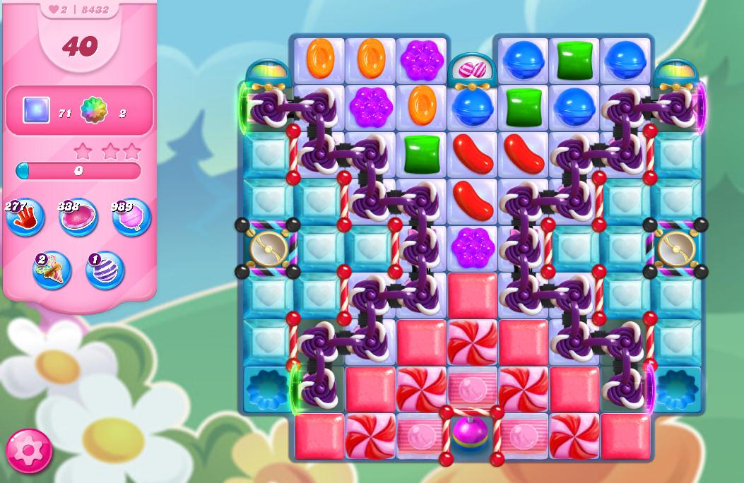 Candy Crush Saga level 8432