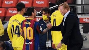 Jelang Atletico Madrid Vs Barcelona, Koeman Singgung Masa Depan Messi