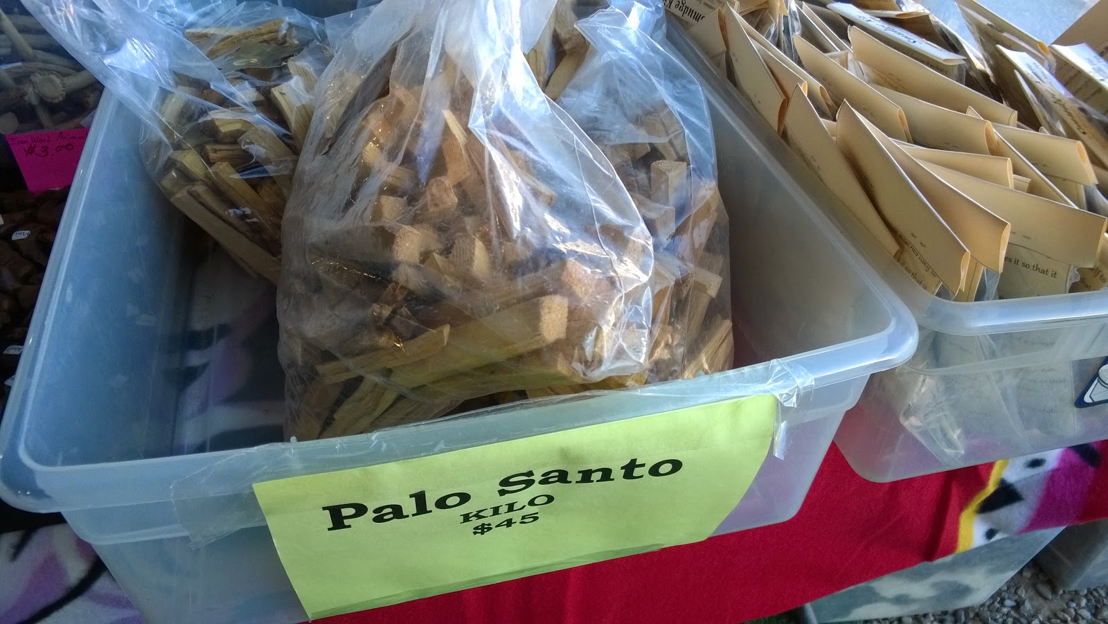 Paolo Santo wood sticks