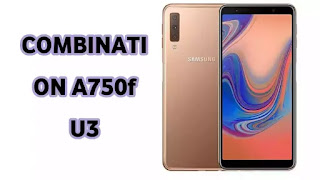 Combination Firmware Galaxy A7 SM-A750f U3  Samsung A750f U3 Factory Combination File-Bypass FRP