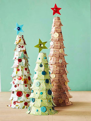 DIY Paper Trees Tutorial