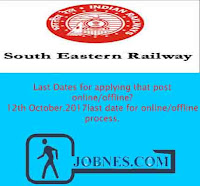 South Eastern Railway Recruitment 2017 for various posts  apply online here