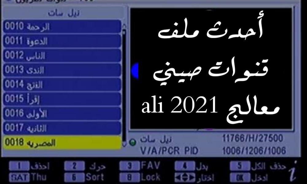 ملف قنوات نايل سات 2021 Usb عربي لجميع الرسيفرات