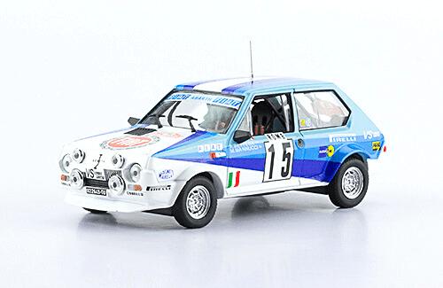 collezione rally monte carlo Fiat Ritmo 75 Abarth 1980 A. Bettega - M. Mannucci