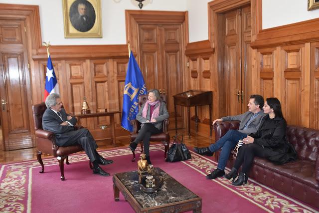 Colegio de Periodistas y Mauricio Weibel se reunieron con la Corte Suprema  por espionaje del Ejército