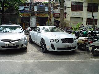 Bentley Continental GT in Vietnam