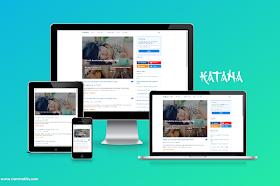 Katana Responsive Blogger Template