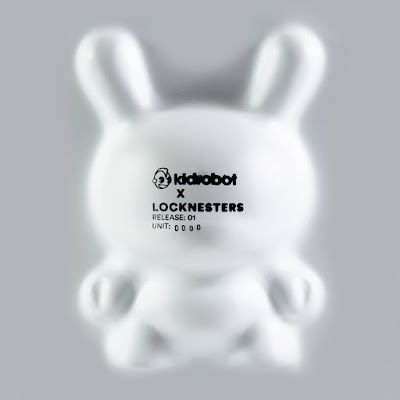 "Puzzle Dunny No. 1 8"" Art Figure by LOCKNESTERS x Kidrobot"