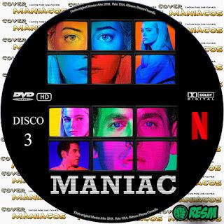 GALLETA 3 MANIAC - TEMPORADA 1 - 2018 [COVER DVD]