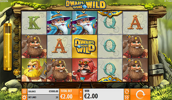 Main Slot Gratis Indonesia - Dwarfs Gone Wild (Quickspin)
