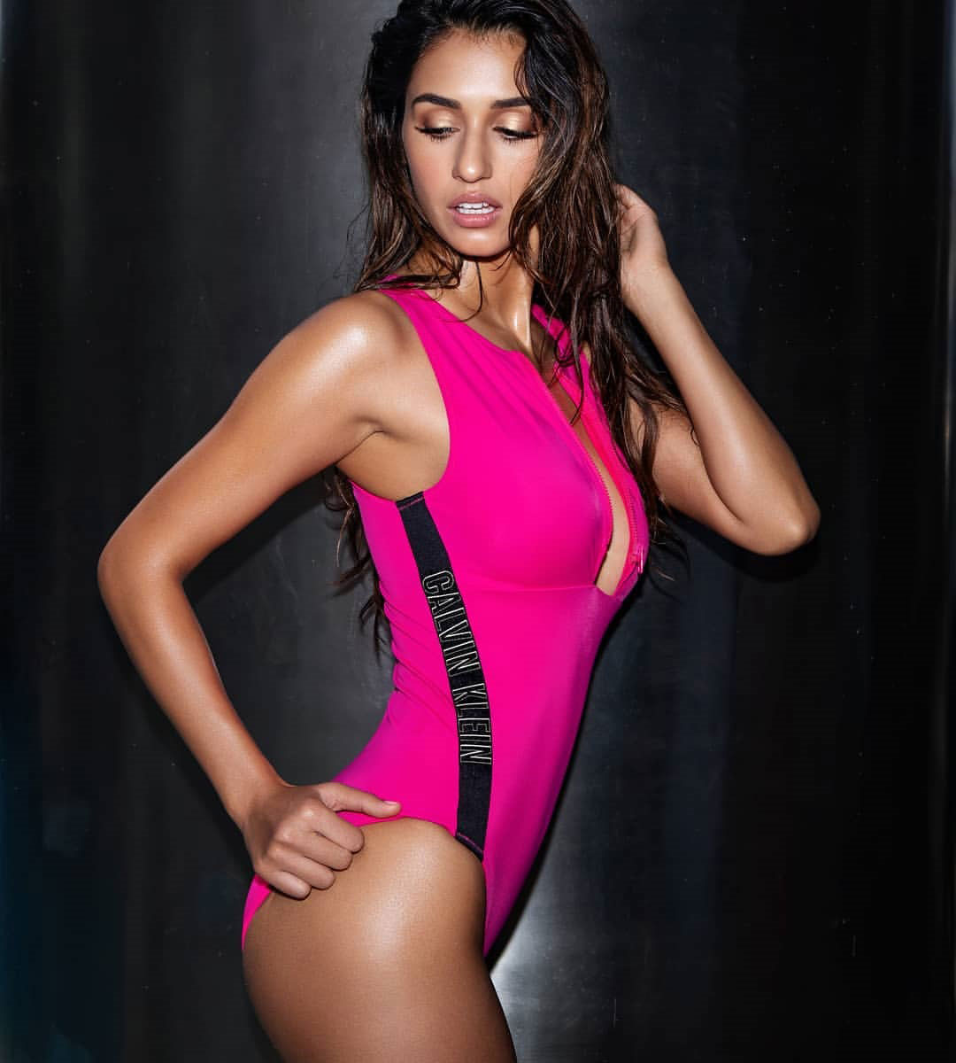 Sexy Disha Patani in  Swimsuit