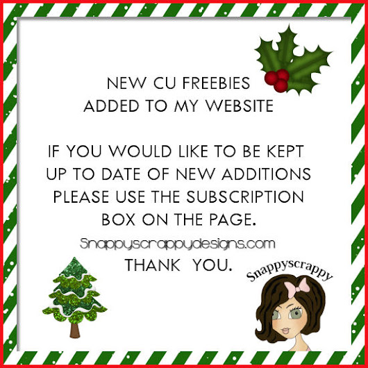 NEW CU SCRAPBOOKING FREEBIES