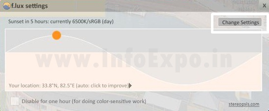 www.infoexpo.in Avoid Burdening of eyes while using computer for hours