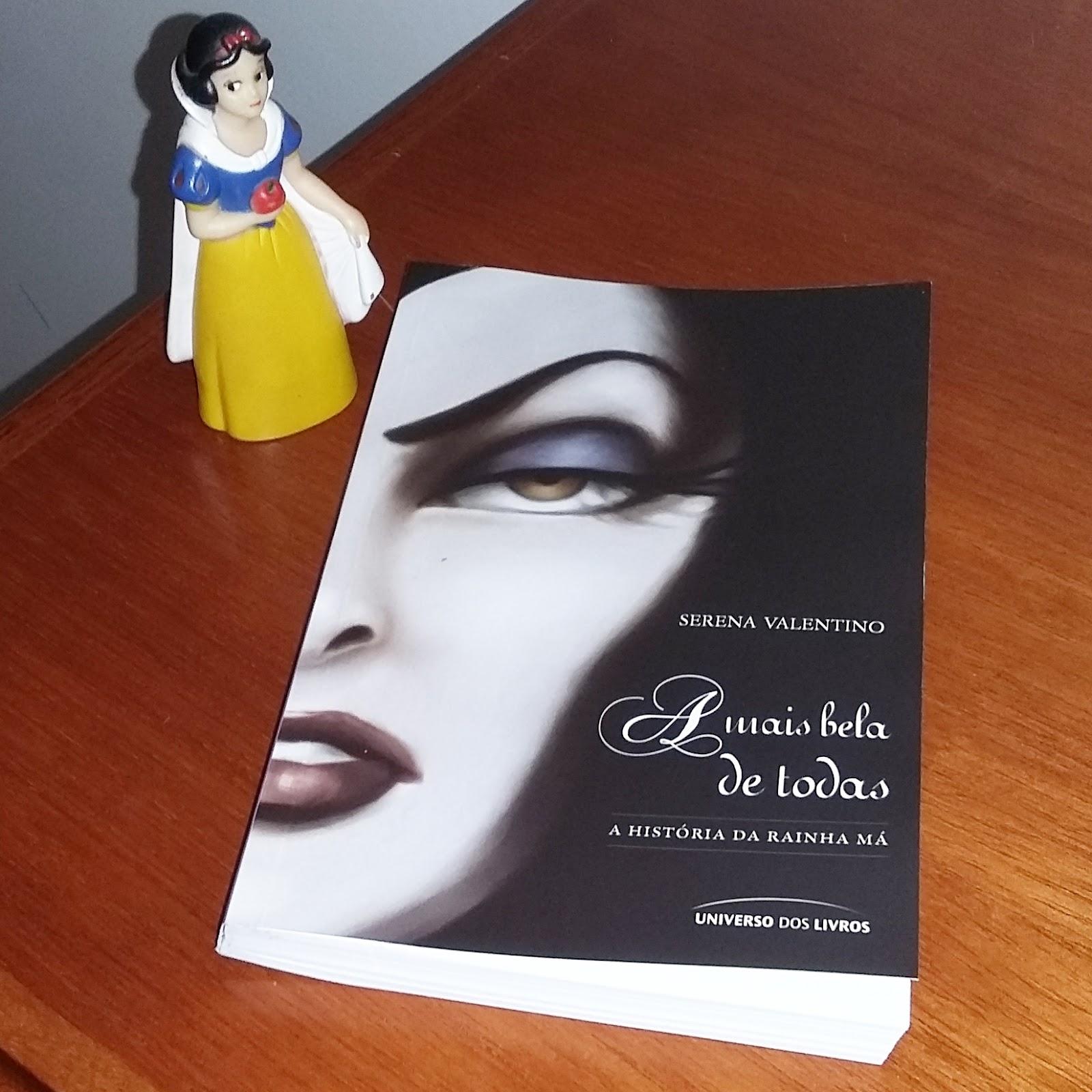 Cereja do Martini: Livros Serena Valentino sobre os Vilões da Disney!