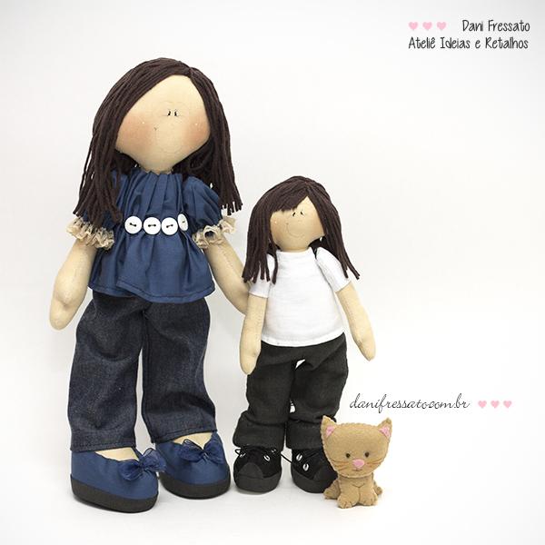 Bonecas Artesanais Personalizadas
