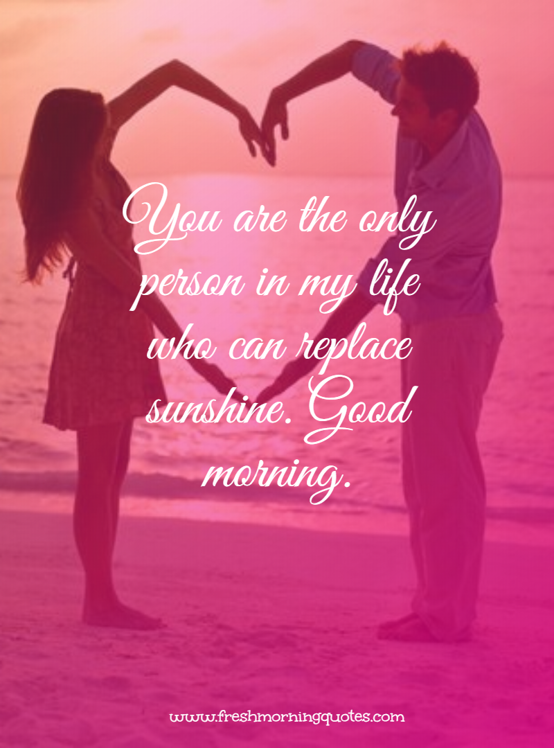 you are the only person