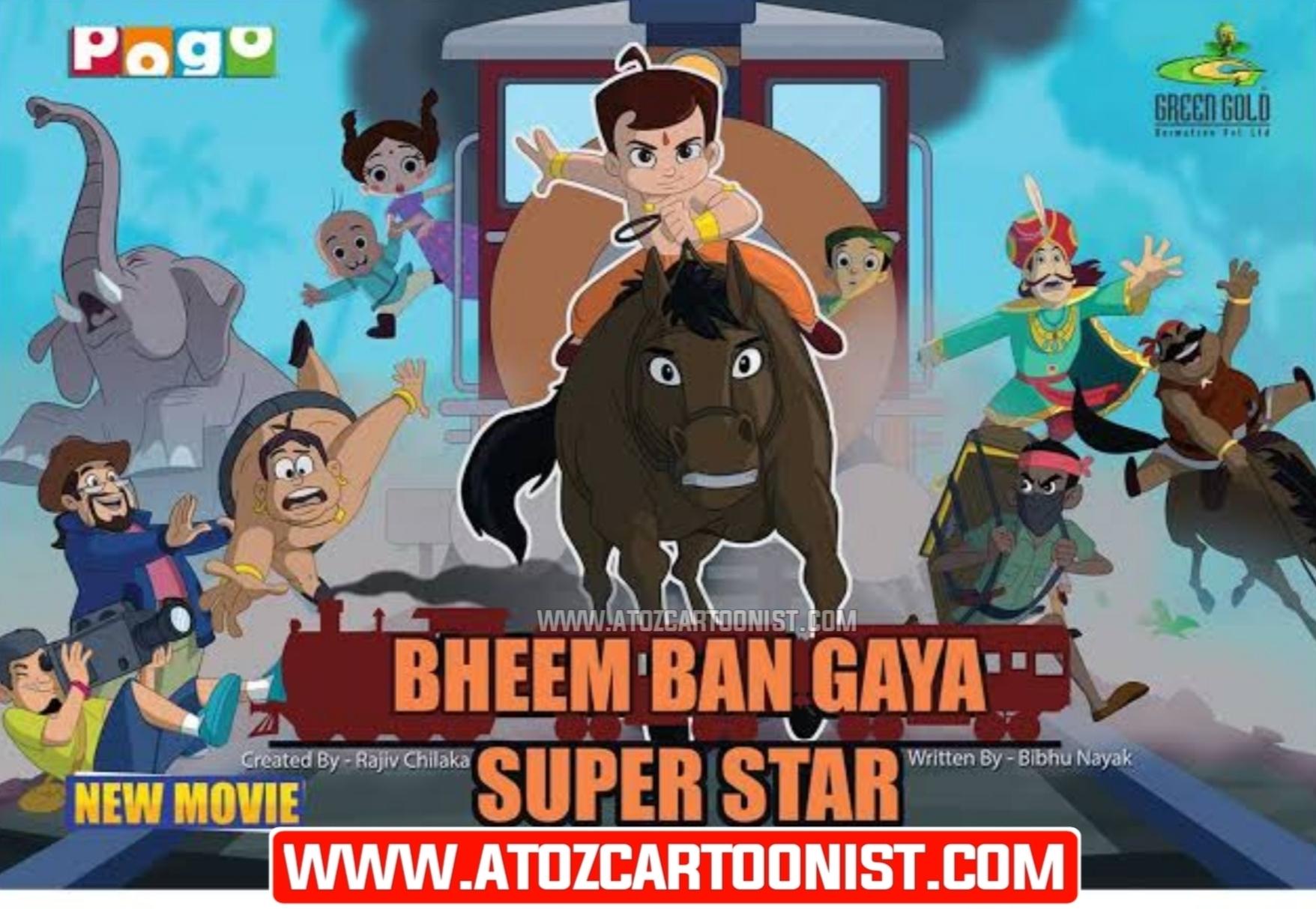 CHHOTA BHEEM BAN GAYA SUPERSTAR FULL MOVIE IN HINDI & TAMIL DOWNLOAD (480P, 720P & 1080P)