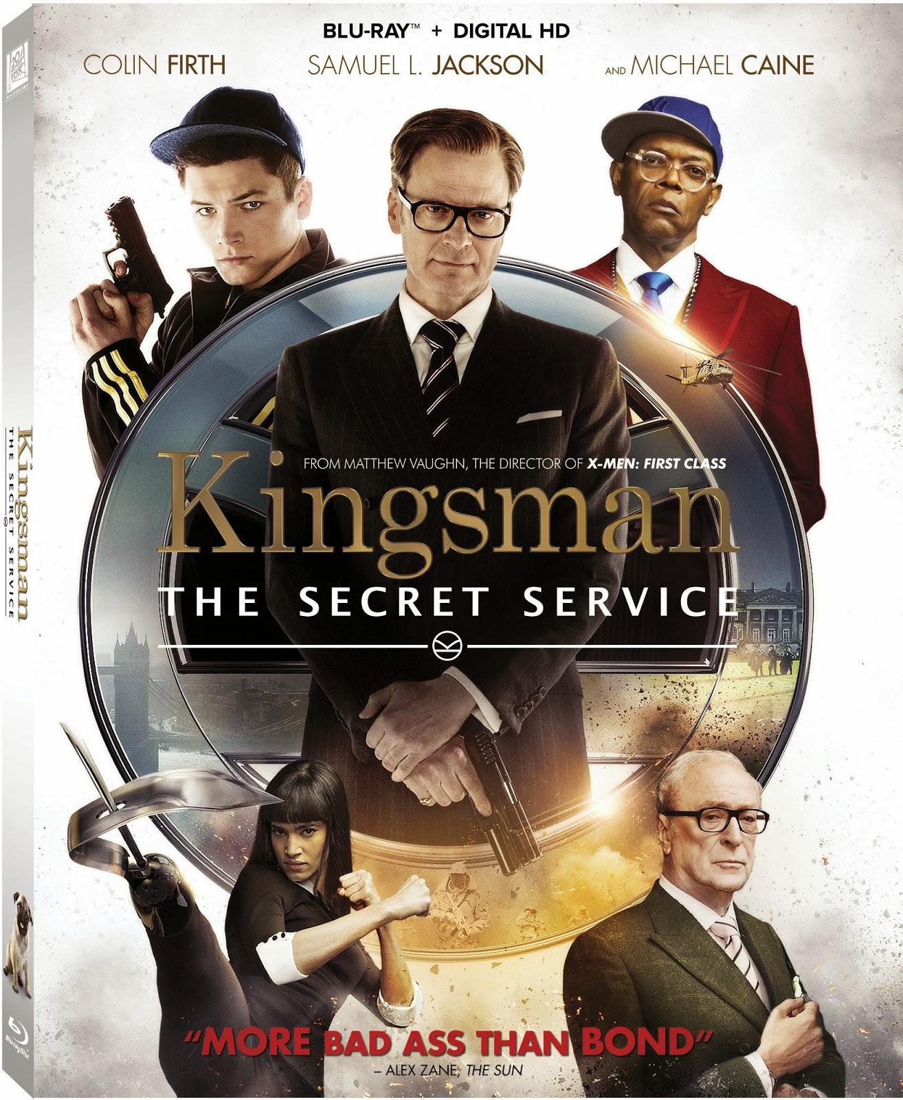 Kingsman El Servicio Secreto (2015) 1080p BD25 Cover Caratula