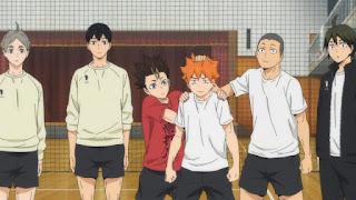 Hellominju.com : ハイキュー!! アニメ 4期1話 自己紹介   Haikyuu!! Season4 Ep.1 Introductions    Hello Anime !
