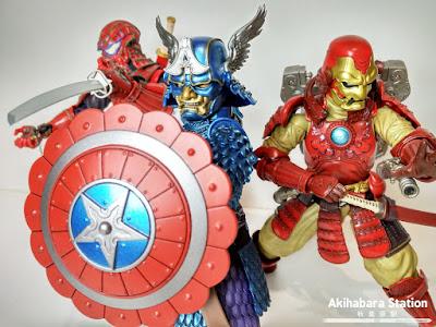 Mei Sho Manga Realization Captain America - Tamashii Nations
